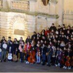 Flashmob al Duomo ieri