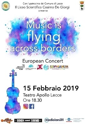 Music Flying Across Borders