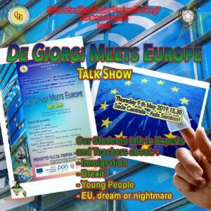 De Giorgi meets Europe