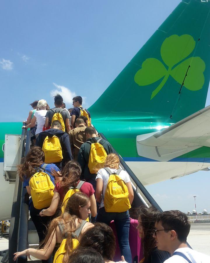 Dublin partenza