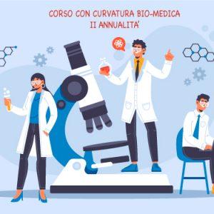"""Corso di potenziamento """"Biologia con Curvatura Biomedica"""" 2° annualità  – Versamento contributo"""