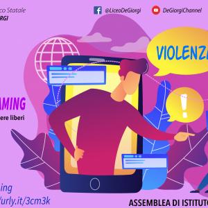 """""""SOS CYBERSHAMING, conoscere la rete per essere liberi"""" – Assemblea di Istituto in streaming"""
